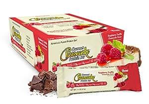 ANSI (Advanced Nutrient Science) - Gourmet Cheesecake Protein Bar tartufo lampone Cheesecake - 12 bar