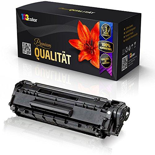 123Color Alternative Tonerkartusche für HP LaserJet 1010 LaserJet 1012 LaserJet 1015 LaserJet 1018 LaserJet 1020 LaserJet 1022 LaserJet 1022N Q2612A Q 2612 A HP12A HP 12A Black XXL - Color Office Serie