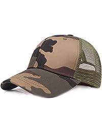 Gorra de béisbol Ocio Retro Hat Gorra de Jungla para Hombre Sombrero de Sol  Deporte al Aire Libre Primavera Verano… 9dc37bdc305