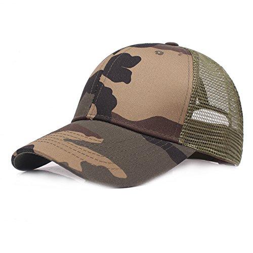 Gorra de béisbol Ocio Retro Hat Gorra de jungla para hombre Sombrero de Sol  Deporte al b02cd3d29cd