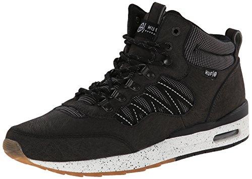 HUF Homme Chaussures / Baskets HR-1 Noir - black/reflective gum