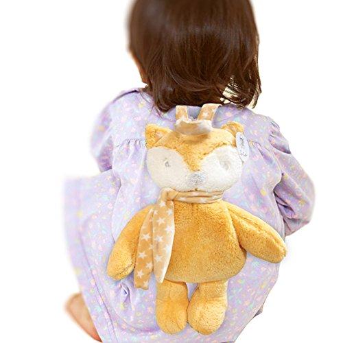 ZZYOU Zaino bambina, Simpatico mini sacchetto da scuola per unicorno, il miglior regalo per ragazze di 2-5 anni (volpe)