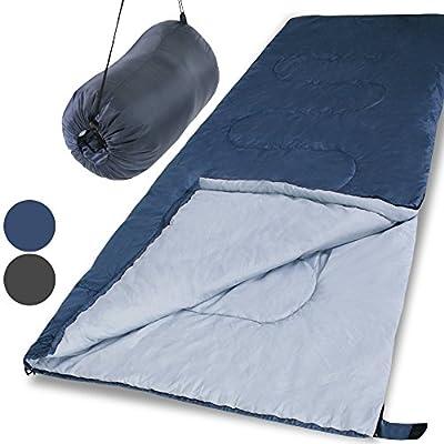 Jago Deckenschlafsack Hüttenschlafsack Campingschlafsack inkl. Transporttasche, koppelbach (Farbwahl)