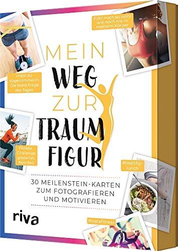 Mein Weg zur Traumfigur: 30 Meilenstein-Karten zum Fotografieren und Motivieren (Spiegel-foto-app)