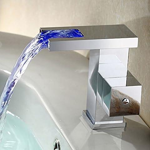 Clásico de lujo nuevo LED luminosos CSÁSZÁR grifo bañera dragón