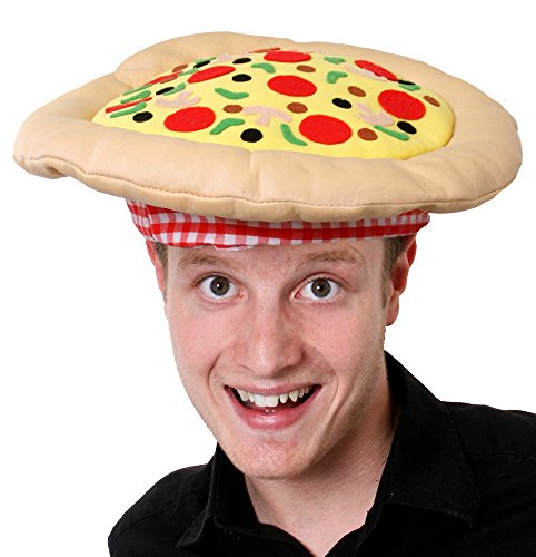 ITALIENSCHE PIZZA HUT FÜR RUGBY /FUSSBALL WELTMEISTERSCHAFT - FANCY DRESS ACCESSORY HUT FÜR ITALIEN SPORT (Dress Fancy Kostüm Pizza)
