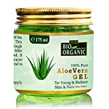 Indus Valley Bio Organic Non-Toxic Aloe Vera Gel for Acne, Scars, Glowing
