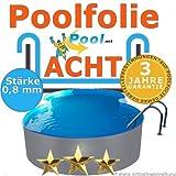 Poolfolie 5,25 x 3,20 x 0,8 mm 0,90 1,20 1,25 1,35 1,50 m Ersatzfolie Innenfolie Schwimmbadfolie 5,25 x 3,2 m Achtformpool 0,9 1,2 1,5 Innenhülle achtform Pool folie Auskleidung Folien hülle innenauskleidung Poolfolien günstig kaufen
