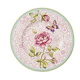 Villeroy & Boch 10-4141-2644 Rose Cottage Frühstücksteller, Premium Porzellan