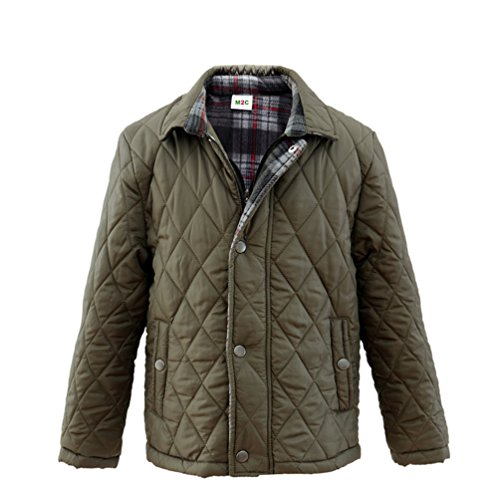 5c35855908c7 Get M2C Boys Diamond Quilted Padded Fleece Lined Barn Jacket at Love ...