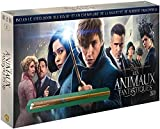 Fantastic Beasts and Where to Find Them Steelbook + limited edition Boxset + Norbert Wand dragonet and SteelBook Blu-ray 3D + Blu-ray + DVD (Fr Import)