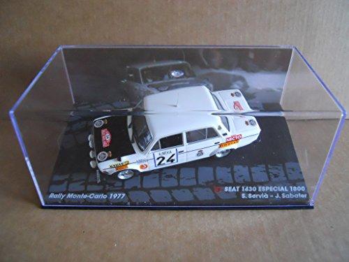 Rally Model Car SEAT 1430 SPECIAL 1800 S.Servia Monte Carlo 1977 IXO 1:43 [MK] - 1430 Car