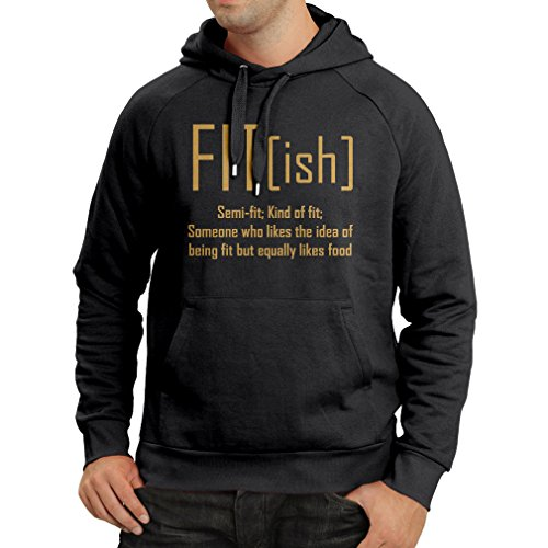 lepni.me Hoodie Fit - Ish Definition. Exercise - Workout - Gym, Sarcastic Gift Idea, Funny Weightloss Sayings