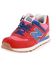 New Balance Ml574Vrb - Zapatillas de gimnasia para hombre, color rojo, talla 36