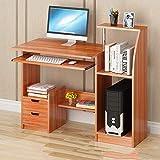 Mingcong Computer-Schreibtisch Student Schreibtisch Zu Hause Einfache Schlafzimmergröße, 60 * 70Cm Multifunktion,Red