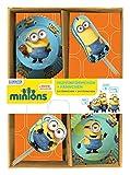p:os 24418 Minions Muffin Backset mit Fähnchen im Geschenkkarton