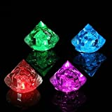 EgBert Multicolore Diamants LED Lumineux Glaçons Ice Cube De Noël Decor Fournitures De Mariage