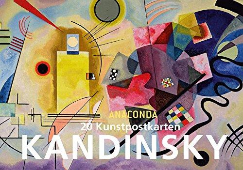 ly Kandinsky (Kunst Postkarten)