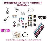 24 Teile Mädchen Schmuck
