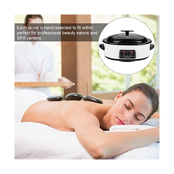 Digital Display Massage Stein Hitze Maschine 27 Massage Stein 6l Elektrische Massage Stein Heizung Hot Stone Heizung Perfekt Fr Professionelle Schnheitssalons Und Spa Zentren