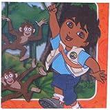 GO Diego Go–Vajilla para Fiesta, cumpleaños infantil–16servilletas, de Estados Unidos
