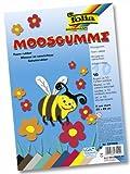 Folia 231009 - Moosgummi 20 x 29 cm, 10 Bogen 10 farbig sortiert