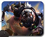 Mousepad Chopper Roadhog OW - Tapis de Souris Overwatch