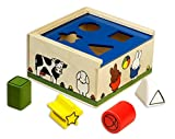 "MIFFY 0419050 ""Classic Wooden Shape Sorter"" Toy"
