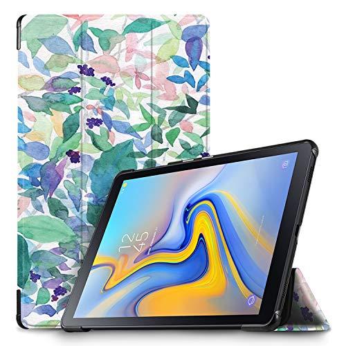 IVSO Hülle für Samsung Galaxy Tab A 10.5 SM-T590/T595, Slim Schutzhülle mit Auto Aufwachen/Schlaf Funktion Ideal Geeignet für Samsung Galaxy Tab A SM-T590/SM-T595 10.5 Zoll 2018, Bluebell