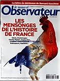 NOUVEL OBSERVATEUR (LE) [No 2396] du 07/10/2010 - LA LETTRE DE DEMISSION DE BERNARD KOUCHNER - LES MENSONGES DE L'HISTOIRE DE FRANCE -...