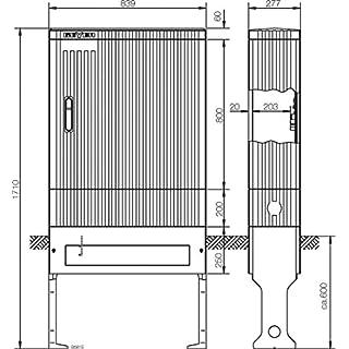 ABN Braun-Spalte-FB3BH5m. SL177P m-placa