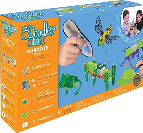 3Doodler Start 3D Stift-Set Robotics 3DS-ROBP-DEF-R Druckstift Kinder Spielzeug