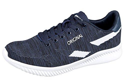 Sneaker Da Donna Gibra®, Molto Leggera E Confortevole, Blu Scuro / Bianco, Taglia 36-41 Blu Scuro / Bianco