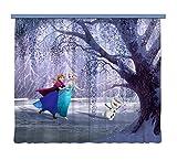 Gardine/Vorhang FCS xl 4300, Kinderzimmer Disney Frozen