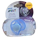 #7: Philips Avent Soother Fast Flow - 0 to 6 months (Single Pack) (Color may Vary)