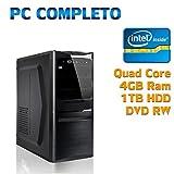 Computers Best Deals - COMPUTER DESKTOP PC FISSOASSEMBLTO COMPLETO TOWER NUOVO INTEL QUAD CORE/4GB/1TB