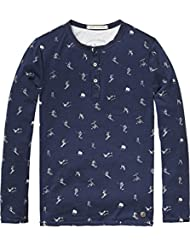 Scotch Shrunk Jungen T-Shirt Single Layer Grandad