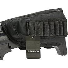 Airsson tattico buttstock Shotgun Fucile Shell Holder