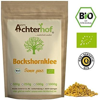 Bockshornklee-Samen-ganz-BIO-250g-Bockshorn-Tee-Bockshornkleesamen-Ideal-als-Tee-oder-Gewrz-Fenugreek-Seeds-Whole-Organic