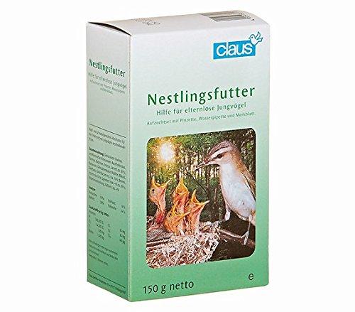 Claus Nestlingsfutter + Futter-Pinzette 100 g