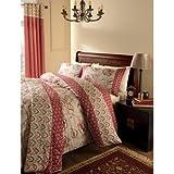 "Catherine Lansfield Kashmir Curtains 168 x 183cm (66x72"")"