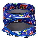 Side Folding Bag, Baby and Mom Multipurpose Bag, Travelling Bag,Carry Bag (Blue)
