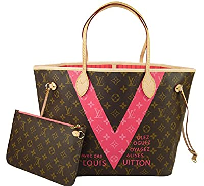 Louis Vuitton M41602 Neverfull MM Monogram V Sac à main en toile
