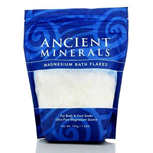 Antike 750g Mineralien Magnesium Bad Flocken -