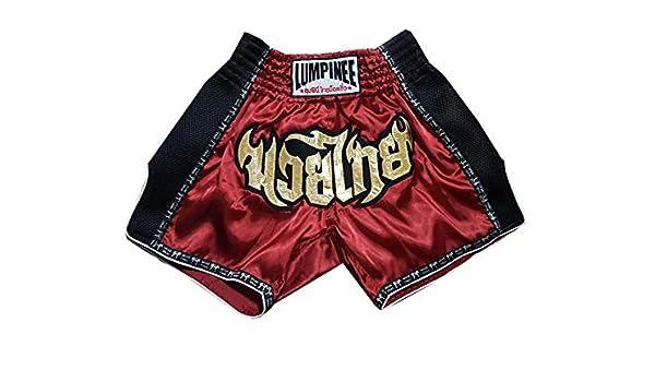 Lumpinee Retro Muay Thai Boxing Hose LUMRTO-003-Black Grosse M
