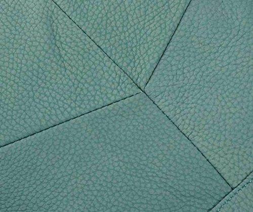 Tracolla In Pelle Ms. Grande Capacità Multi-purpose Zaino Blue