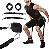 Forfar Feet Trainings Gurtsatz Widerstand Bänder Leg Trainer Krafttraining Expander Pull Rope Durable Stretching Gürtel Fitness Übungs Sport