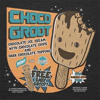 Texlab–Choco Groot Ice Cream–sacchetto di stoffa Nero
