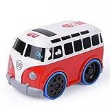 NextX Baby Spielzeug berühren-und-Go-Auto Frühe Bildung Spielzeug Fahrzeuge Autos Bus für Kinder Jungen Mädchen(Rot)