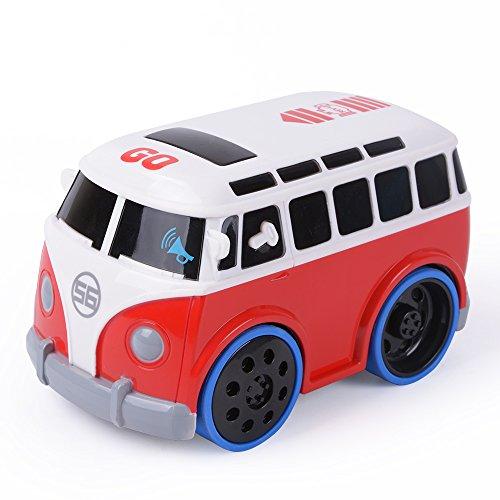Preisvergleich Produktbild NextX Baby Spielzeug berühren-und-Go-Auto Frühe Bildung Spielzeug Fahrzeuge Autos Bus für Kinder Jungen Mädchen